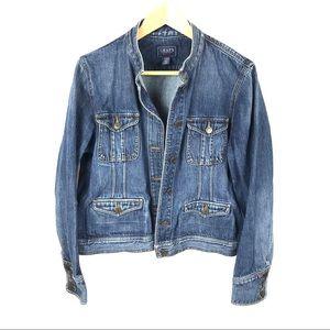 LIKE NEW! Vintage Chaps blue denim jean jacket